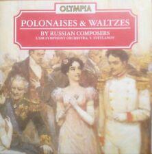 Yevgeny Svetlanov - Polonaises And Waltzes by Rus... - Yevgeny Svetlanov CD COVG