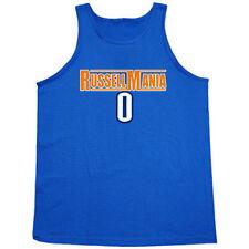"Oklahoma City Thunder Russell Westbrook ""Russellmania"" jersey shirt TANK-TOP"