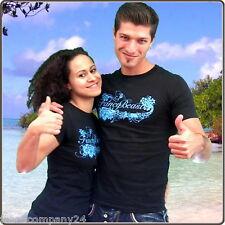 FancyBeast-Limitiertes Herren & Damen Surf T-Shirt,Schwarz-Streetwear S-XXL
