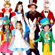 ALICE nel paese delle meraviglie bambini storia mondo delle fiabe Libro Giorno Bambini Costumi Per Bambini