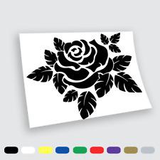 Adesivi in vinile Wall Stickers Prespaziati Fiori Rosa Moto Notebook Parete Auto
