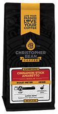 Christopher Bean Coffee AMARETTO CINNAMON STICK Flavored Coffee 1-12 Oz Bag
