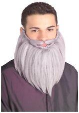 Grey Wizard Beard and Mustache