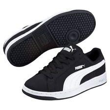 Junior Puma Smash Buck Sneakers 359043 01 Black White 100% Authentic Brand New