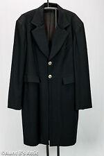 Victorian Era Frock Coat Black Wool Wahmaker Western Gentleman's Long Coat