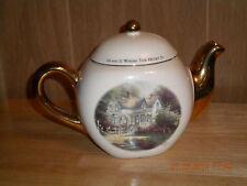 """Thomas Kinkade Teapot-  """"Home is Where the Heart Is II"""