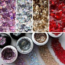 PNB Galaxy Gel Flakes Shine Gel Polish Sequins Chrome Glitter Gel Nail Art