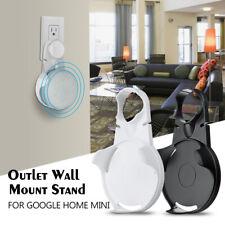 For Google Mini Voice Assistants Wall Outlet Mount Holder Hanger US EU Version &
