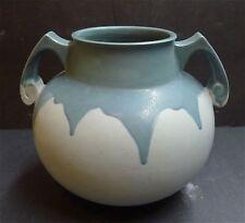 Roseville Carnelian I Vase Antique Blue
