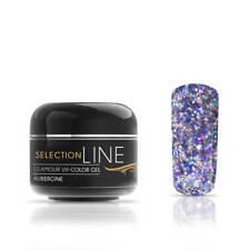 LED UV Farbgel Selection Line Glamour 5ml | Glitzer Blautöne Gel mittelviskos