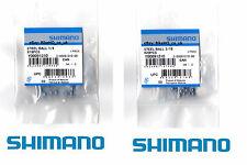 "Shimano Ball Bearings Front or Rear Wheel/Hub - All Sizes - 3/16"" & 1/4"""