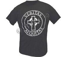 Veritas Aquitas Boondock Saints Prayer Black SS t-shirt Truth & Justice S-3X