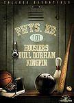 Physical Education 101 Hoosiers Bull Durham Kingpin (DVD, 2009, 3-Disc Set) NEW