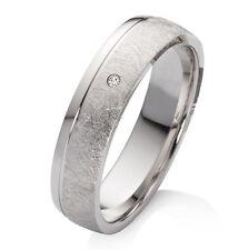 Verlobungsring aus 925 Silber mit echtem Diamant Ringe Gravur EBK43