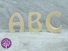 Wooden 18mm MDF Freestanding Alphabet Capital Letter Craft Blank