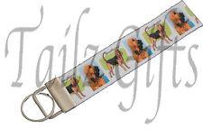 Bloodhound Breed of Dog Matching Keyring Key Ring | Bookmark