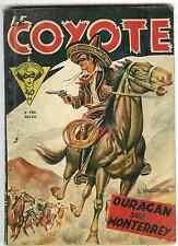 B.D. Le COYOTE    - n°3    -    Ouragan sur Monterrey