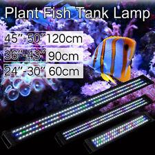 60CM/90CM/120CM Aquarium LED Light Lighting Colourful Aqua Plant Fish Tank Lamp
