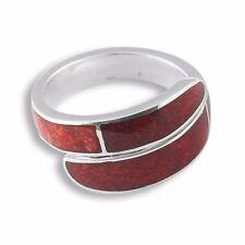Echt 925er Silber Designer Ring Koralle Top Handarbeit SR007