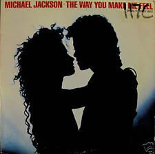 """MICHAEL JACKSON """"THE WAY YOU MAKE ME FEEL"""" 12"""" 1987"""