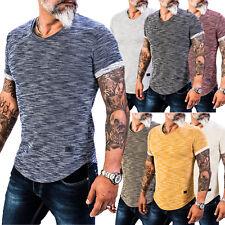 Rock Creek Herren T-Shirt Oversize Rundhals Ausschnitt Kurzarm Shirt H-151 NEU