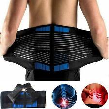Back Support Belt Lumbar Brace Waist Strap Pain Relief neoprene Lower Back Belt