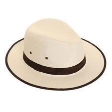 Adultos elegant Summer Fedora Sombreros con imitación de gamuza Banda Y Recorte libre rápido post