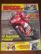 MOTOSPRINT 2005/38 LORIS CAPIROSSI TRIUMPH DAYTONA 675