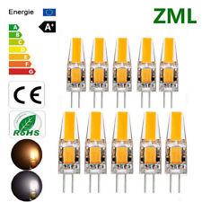 ZML G4 3W 6W AC/DC 12V Dimmable LED COB Mini Ampoule Remplacer Lampe Halogène