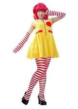Miss RONALD McDonald Clown Rosso E Giallo Costume Abito e accessori