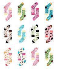 Para mujeres Largo Informal Calcetines de Algodón para Hombre Forro Suave Gracioso brillante con patrones de punto