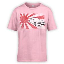 Japanese Skyline R33 Kids T-Shirt x10 Colours- Gift Present Japan JDM Drift Fast