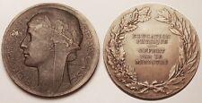 Médaille Education Physique, offert par le Ministre, Graveur : Morlon, vers 1930