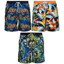 Bruno Banani Bade Bermuda SWIM Flowerprint bunt Badehose Short S M L XL XXL