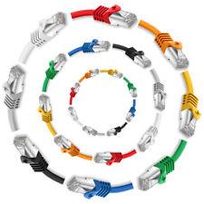 CAT 7 Patchkabel Netzwerkkabel S/FTP LAN DSL Ethernet Netzwerk Kabel 0,25m - 50m