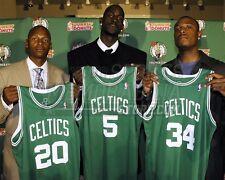 Boston Celtics Ray Allen Kevin Garnett Paul Pierce 1  8x10 11x14 16x20 photo 084