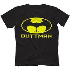 Buttman T-Shirt  BATMAN PARODY FUNNY PRESENT GIFT NOVELTY