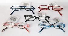 LESEBRILLE +1,50 blau rot schwarz rosa Lesehilfe Sehhilfe Brille Brillen 130