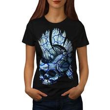 Punk Music Metal Skull Women T-shirt NEW | Wellcoda