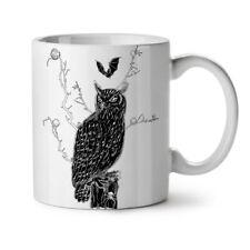 Owl Night Beast Animal NEW White Tea Coffee Mug 11 oz | Wellcoda