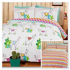 Rapport Happy Llamas Cactus Fun Duvet Set Single/Double/King Size