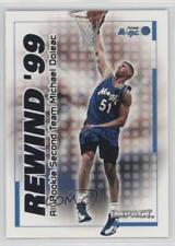 1999 Skybox Impact Rewind '99 #37RN Michael Doleac Orlando Magic Basketball Card