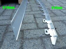 Bordure alluminio giardino aiuola. Lama bordura separazione metallo L. 3 metri