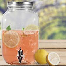 3,5 Liter Getränkespender GLANCE mit Hahn Saftspender Getränke Dispenser Spender