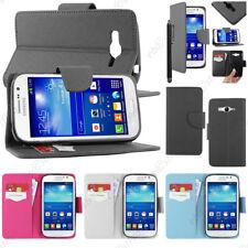 Housse Etui Coque Portefeuille Simi Cuir Samsung Galaxy Grand Plus i9060I Neo