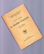 il teatro italiano -  silvio d amico -  1927