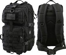 KOMBAT UK Unisex Hex – Stop Reaper Confezione da 40 LITRI Nero Esercito MOLLE ASSALTO Bag