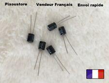 Condensateur chimique Radial 100uF/25V 105°C . Lot au choix. Neufs !! 10-32