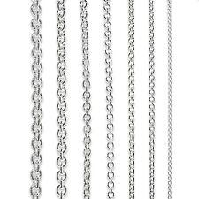 ANKERKETTE Rund 925 STERLING SILBER Kette Collier Halskette Damen Herren KINDER