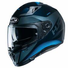 HJC I70 Tas Motorcycle Motorbike Full Face Helmet - MC2 Blue